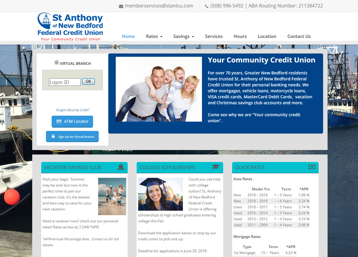 St. Anthony of New Bedford FCU