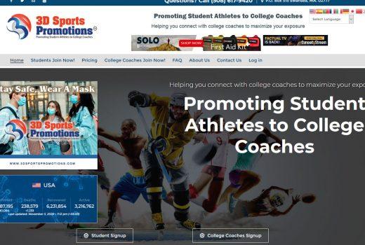 3D Sports Promotions