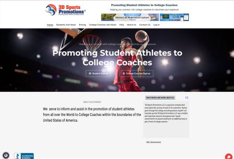 3D Sports Promotions